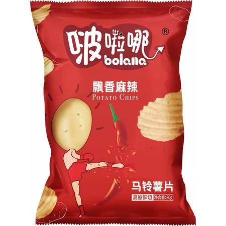 【5月超值购】册亨 啵啦哪(土豆片)4种口味 80g 全国包邮 部分地区不发货