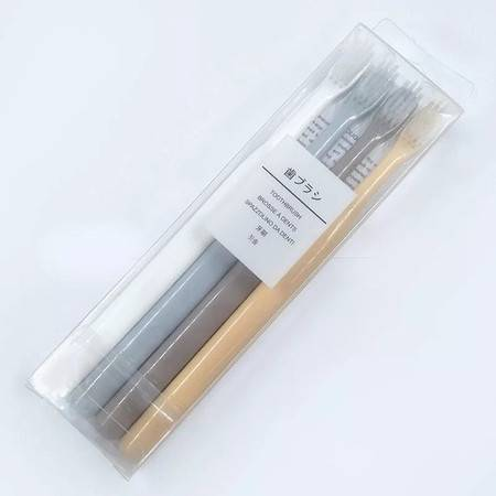 阳晨 牙刷 4支装小麦秸秆牙刷 日式小头成人软毛牙刷