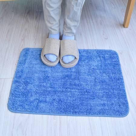 地垫  38*58cm  简约防滑地垫 绒面地毯家用浴室吸水防滑脚垫 地垫