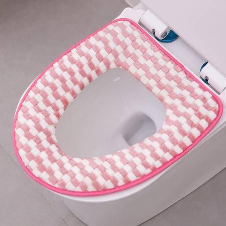 马桶圈 冬季家用保暖毛绒马桶垫 防水坐便套马桶套加厚马桶圈