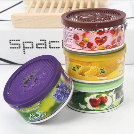 清洁剂  4盒装 空气清新剂居家室内固体清香剂卧室衣柜香薰芳香剂厕所除臭剂