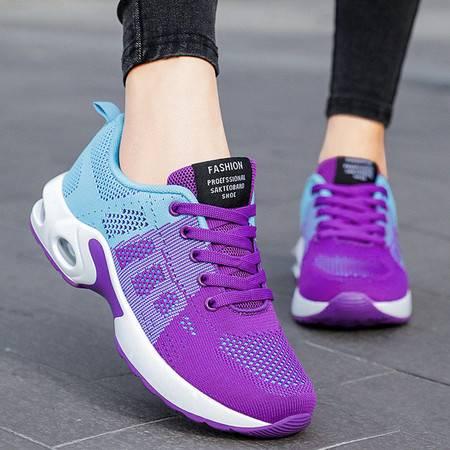 鞋子 女 新款  女鞋 大码跑步鞋 气垫鞋 软底shoes 休闲运动鞋女