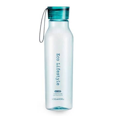 乐扣乐扣 (LOCK&LOCK)水杯便携杯子男女学生塑料随手杯创意水瓶防漏运动水壶HLC644