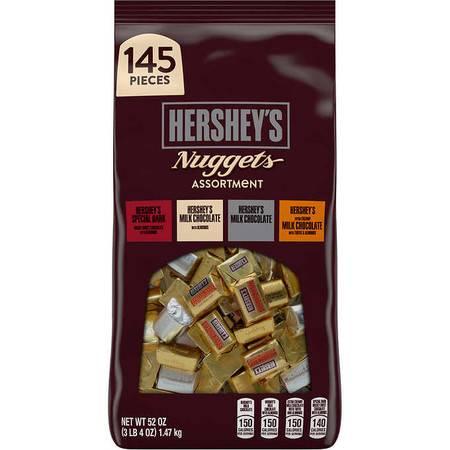好时/HERSHEY'S 超值装巧克力金银砖混装