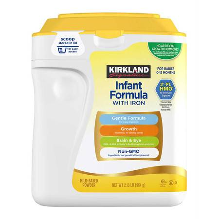 柯克兰/COSTOC Kirkland 婴儿一段(0-12月)配方奶粉