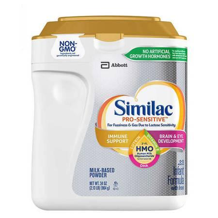 雅培/Similac 乳糖不耐受婴儿专用一段(0-12月)配方奶粉图片