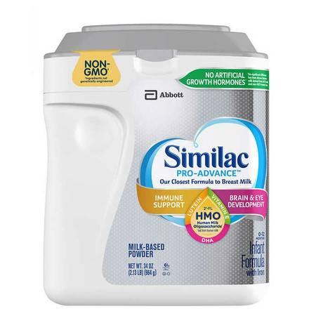 雅培/Similac 婴儿一段(0-12月)配方奶粉