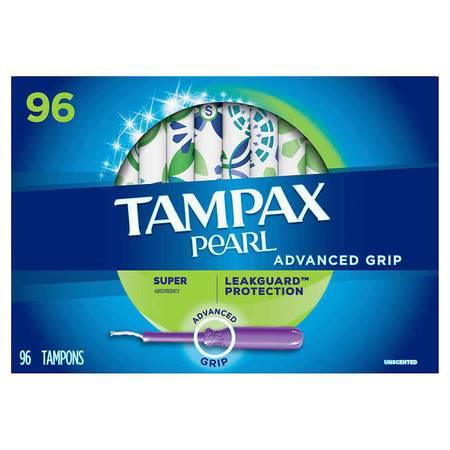 丹碧斯/TAMPAX 导管式棉条 大流量  96个装