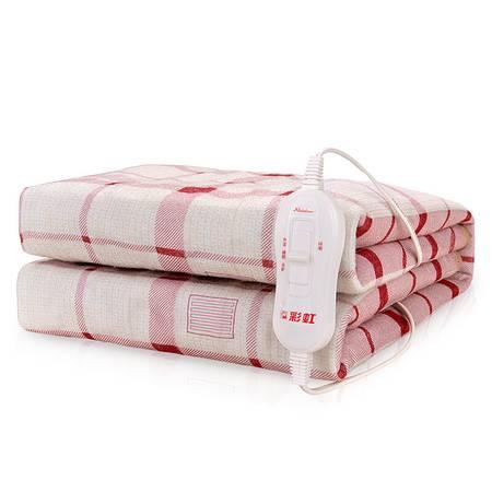 彩虹 单人全线路安全保护调温电热毯1215A印花调温150*70cmTT150×70-5XA