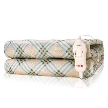 彩虹 双人全线路安全保护调温电热毯1216A花色随机150*120cmTT150×120-4XA