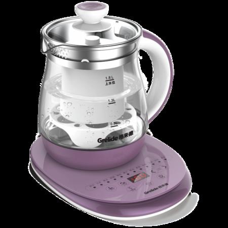 Grelide/格来德 G118E 电热水壶1.8L触屏式 玻璃保温电茶壶 普洱茶壶国产温控器多功能