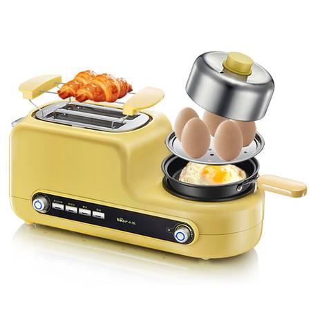 小熊/BEAR 多功能多士炉家用2片早餐机吐司加热机三明治机带煎锅煮蛋蒸蛋煎蛋DSL-A02Z1