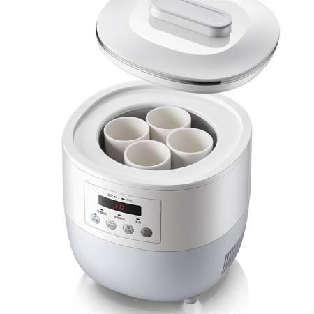 小熊/BEAR全自动可制冷酸奶机家用多功能母乳机迷你小冰箱米酒机 SNJ-L10A1 浅紫色