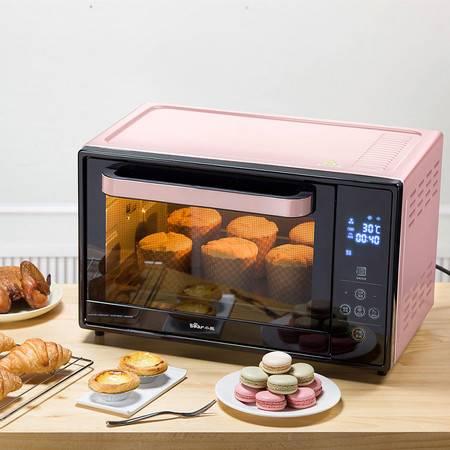 小熊/BEAR 电烤箱30升家用双层智能多功能专业烘焙旋转烤叉上下管独立控温 DKX-B30Q1