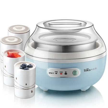 小熊/BEAR 酸奶机迷你全自动不锈钢恒温发酵机陶瓷小型酸奶机家用发酵SNJ-C10H1