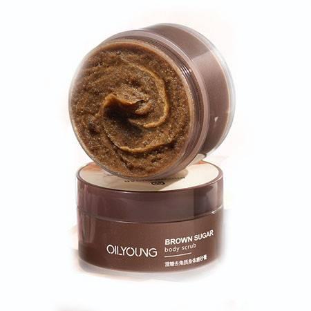 欧丽源澄糖身体磨砂膏去角质改善鸡皮肤疙瘩毛囊C01.OLY-0216