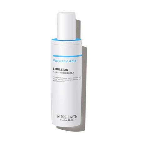 Miss face玻尿酸保湿补水乳液女清爽控油皮肤干燥修护抗氧