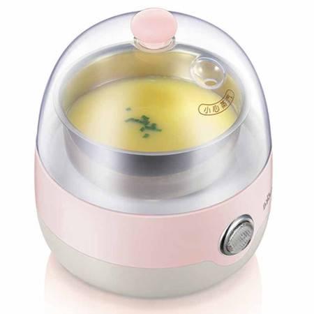 【东营馆】小熊煮蛋器ZDQ-2201樱桃粉多功能不锈钢煮鸡蛋煮蛋机蒸蛋器自动断电(部分包邮)