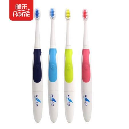 酷波德 赛嘉 seago 电动牙刷声波震动儿童成人3个刷头电池式自动震动牙刷 SG-906