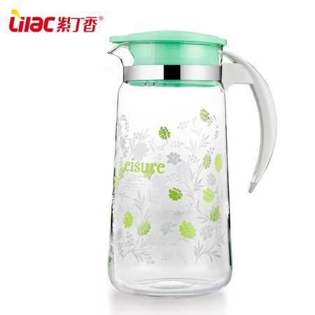 紫丁香 耐热玻璃冷水壶大容量开水壶果汁壶水具扎壶家用防爆凉水壶
