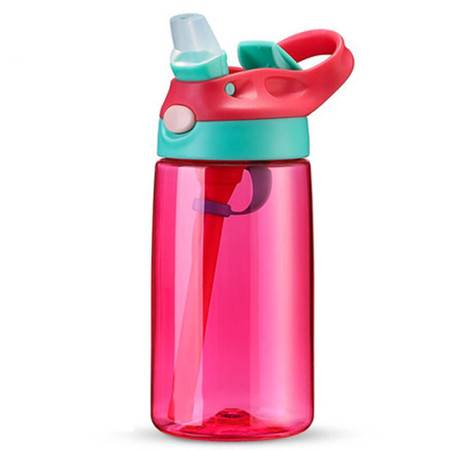【2月12日陆续发货】儿童吸管杯创意水杯便携杯子防摔塑料杯男女宝宝学生水壶