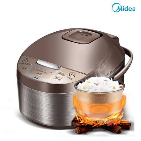 美的电饭煲家用4L大容量多功能智能全自动煮米饭锅2官方正品5-6人