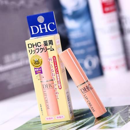 蝶翠诗(DHC)橄榄护唇膏1.5g日本润唇膏保湿滋润补水改善唇纹防干裂提亮