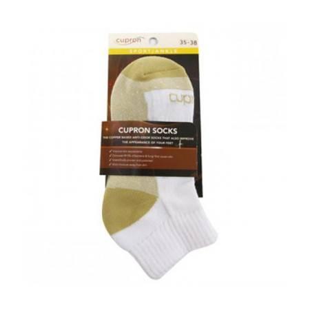 以色列 铜邦Cupron防臭护肤运动袜/脚眼