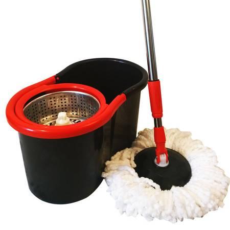 馨晶旋转拖把桶拖布双驱动好神拖免手洗懒人地拖瓷砖木地板拖地墩布家用吸水拖把