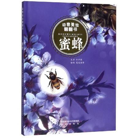 蜜蜂/动物美绘翻翻书