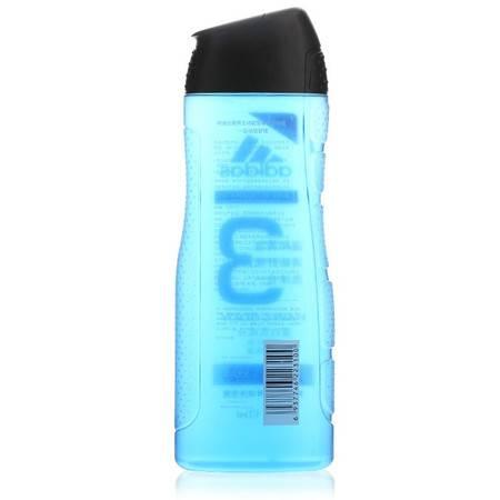 阿迪达斯(Adidas)男士洗护二合一运动后舒缓香波沐浴露400ml 持久留香控油清凉爽肤