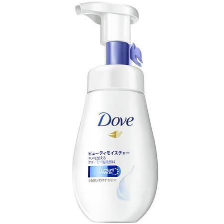多芬洗面奶润泽水嫩洁面泡泡氨基酸慕丝160ml