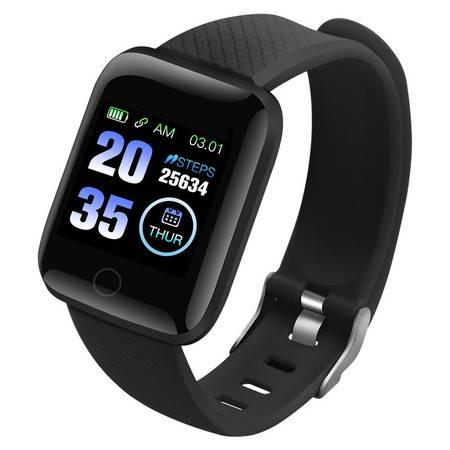 LYKRY智能手环运动手表心率血压多功能防水计步器表男女健康手环116PLUS