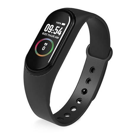 LYKRY智能手环全触控彩屏运动手环心率血压检测睡眠监测男女手环M4 PLUS