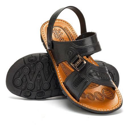 夏季防水防滑凉鞋男士软底耐磨凉拖两用透气凉鞋拖男