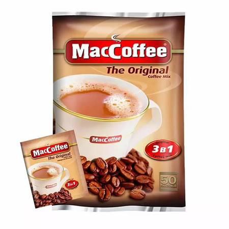 俄罗斯进口咖啡 美卡菲MacCoffeeS三合一进口速溶特浓牛奶伴侣咖啡
