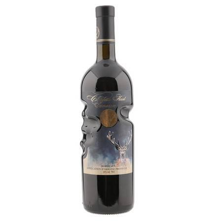 法国进口红酒城堡波尔多干红葡萄酒 天使之手瓶型