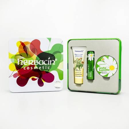 小甘菊 贺本清 herbacin 正品授权 德国原装 护手霜礼盒套装 最新日期