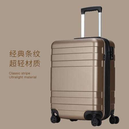 WEPLUS唯加 万向轮静音行旅行拉杆箱 密码登机旅行箱24寸