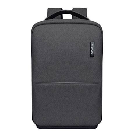 WEPLUS唯加 极简都市休闲商务背包多功能双肩包男电脑包 WP8801