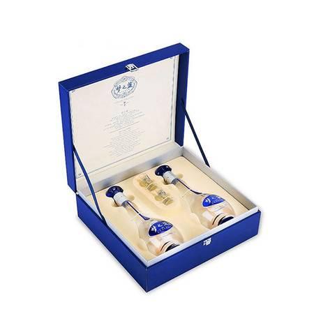 蓝色经典 梦之蓝M3礼盒 绵柔浓香型白酒 52度500ml*2