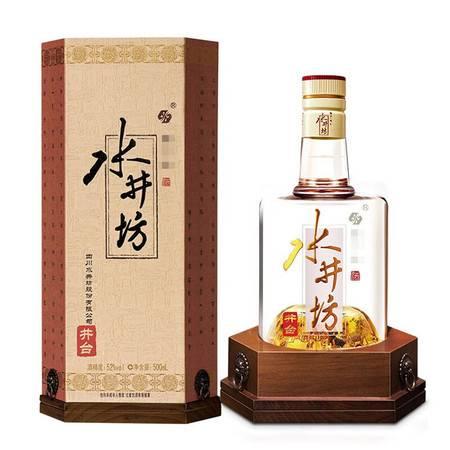 水井坊 井台 52度 浓香型 白酒 500ml*1 单瓶