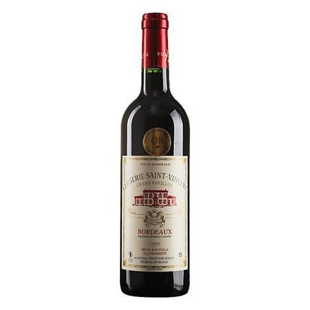 法国原装进口 圣特庄园干红葡萄酒单支装