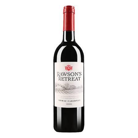 洛神山庄西拉赤霞珠干红葡萄酒750ml单支装