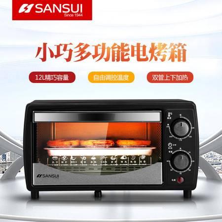 山水(SANSUI) 多功能12L家用电烤箱 烘焙箱SKX03