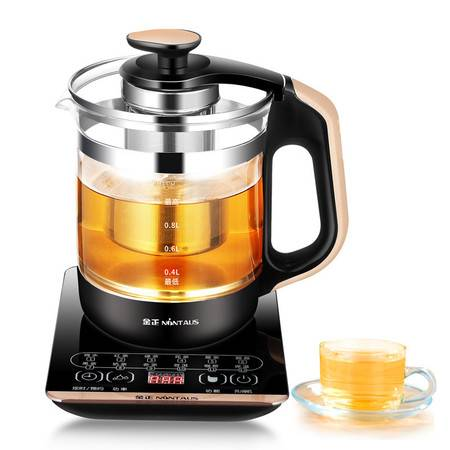 金正/NINTAUS 养生壶烧水壶热水壶煮茶壶花茶壶电茶壶煮水壶煮茶器JZW-1220E(带滤网)