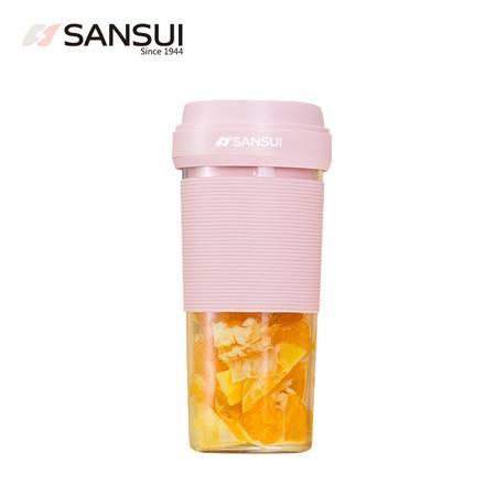山水(SANSUI) 榨汁机原汁机 便携式车载式旅行户外健身运动充电迷你果汁机料理机SJ-M35