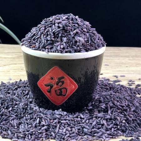 云南特产墨江紫米紫糯米正宗农家自产紫归新米1KG(包邮)