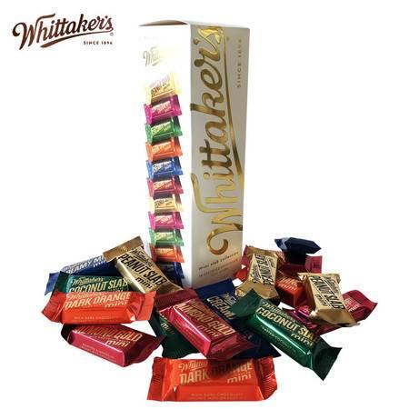 新西兰原装进口Whittaker's惠特克椰子巧克力礼盒装270g节日送礼