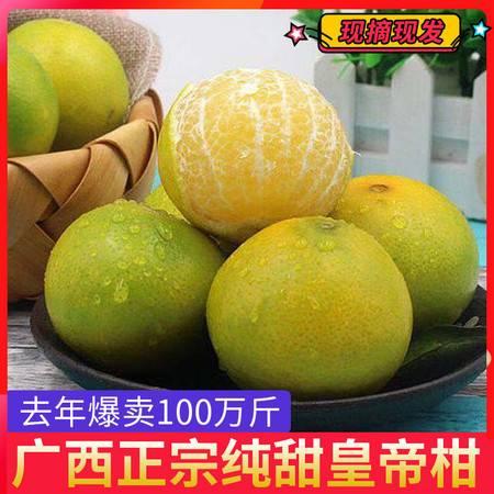 广西武鸣皇帝柑3/5/10斤(60-150g)孕妇时令桔子橘子橙子新鲜水果